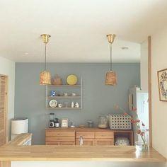 Muji Style, Natural Interior, Kitchen Wallpaper, Japanese House, Interior Design Inspiration, Woodworking Plans, Indoor, Room, Furniture