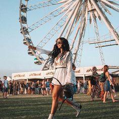 Melhores looks do Coachella Coachella 2018, Coachella Festival, Edm Festival, Festival Dress, Festival Outfits, Concert Outfits, Festival Looks, The Sims, Thaila Ayla