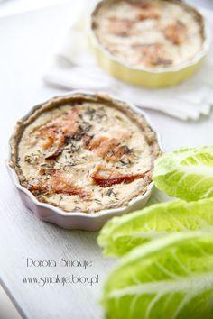 Tartaletki z łososiem, kłania się kuchnia francuska.