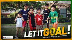 Let It Goal! #Laureate #INTI