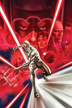 """Silver Surfer by Steve Epting Marvel Lee, Marvel Comics Art, Marvel Comic Books, Comic Movies, Comic Book Characters, Marvel Characters, Marvel Heroes, Comic Character, Captain Marvel"