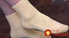 Jednoduchý návod, ako si upliesť krásne ponožky za jeden večer: Žiadne švy, na dvoch ihliciach – najrýchlejšia metóda! Leg Warmers, Gloves, Slippers, Socks, Legs, Knitting, Crochet, Handmade, Fashion