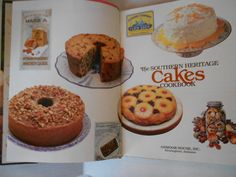Vintage Cake Cookbook, Delicious Southern Heritage Cakes Cookbook, 1983~~