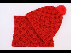 Crochet hat and scarf very easy set DIY - YouTube