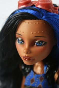 Custom Monster High Doll OOAK Repaint Robecca Steam | eBay