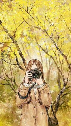 Làm một nháy nào, chese :))) Beautiful Anime Girl, Lonely Girl, Watercolor Art, Aesthetic Anime, Aesthetic Art, Couple Wallpaper, Girl Wallpaper, Paisajes Anime, Anime Art Girl