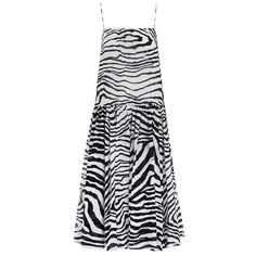 Hyper Zebra Slouch Dress