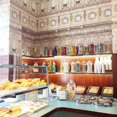 Wes Anderson's Bar Luce // restaurant in Milan