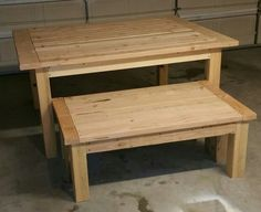 Fresh cut table