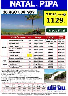 NATAL y Pipa 01 Sep a 30 Nov 9 dias desde 1129 € ultimo minuto - http://zocotours.com/natal-y-pipa-01-sep-a-30-nov-9-dias-desde-1129-e-ultimo-minuto/