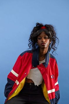 Track jackets are perfect hip-hop fashion from the 80's and 90's | Honey of California ZINE