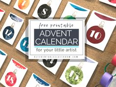 Make your own advent calendar with this free printable. This DIY advent calendar will encourage creativity by providing a prompt, project, or activity! Advent Calendars For Kids, Diy Advent Calendar, Kids Calendar, Christmas Paper Chains, Christmas Fun, Art Prompts, Free Christmas Printables, Learn Art, Activity Days