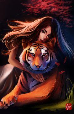 Chinese Zodiac: Tiger @deviantART. Get in-depth info on the Chinese Zodiac Tiger personality & traits @ http://www.buildingbeautifulsouls.com/zodiac-signs/chinese-zodiac-signs-meanings/year-of-the-tiger/