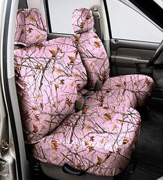 PINK Camo Covercraft Custom Seat Cover Covers