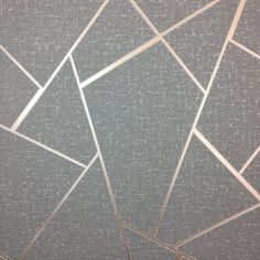 From the Quartz collection is this gorgeous metallic copper geometric wallpaper on a charcoal background with silver glitter highlights. Gold Geometric Wallpaper, Accent Wallpaper, Copper Wallpaper, Rose Gold Wallpaper, Glitter Wallpaper, Room Wallpaper, Luxury Wallpaper, Vinyl Wallpaper, Glitter Accent Wall
