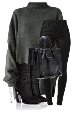 """Untitled #2053"" by whokd ❤ liked on Polyvore featuring J Brand, Balenciaga and Fendi"