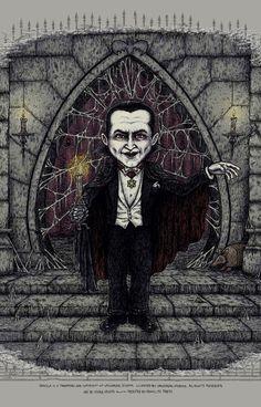 Horror Films, Horror Art, Vintage Movies, Vintage Posters, Dramas, October Art, Monster Art, Little Monsters, Halloween Art