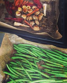 Green Beens Season, grilled Veggies - sugarfree - Für Immer Zuckerfrei