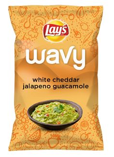 Wouldn't white cheddar jalapeno guacamole be yummy as a chip? Lay's Do Us A Flavor is back, and the search is on for the yummiest chip idea. Create one using your favorite flavors from around the country and you could win $1 million! https://www.dousaflavor.com See Rules.