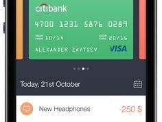 Walle Finance App by Alexander Zaytsev