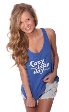 lazy lake day tee | NEED!