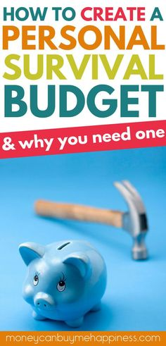 How to budget when you lose your job or run into financial trouble. The best strategy is to have a personal survival budget already in place so you can just make the switch. Knowing where cuts can be made will reduce the massive stress that occurs when you lose your job or have money problems. via @https://nz.pinterest.com/mcbmhappiness/