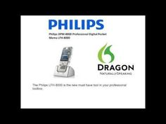 Philips DPM-8000 Professional Digital Pocket Memo LFH-8000