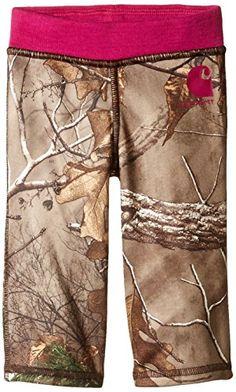 Carhartt Baby Girls' Camo Fleece Pant, Dark Brown, 3 Months Carhartt http://www.amazon.com/dp/B00UX8Q5EE/ref=cm_sw_r_pi_dp_5Ftewb1FVFH3Y