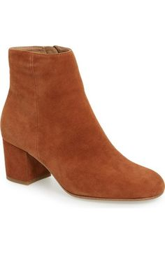 Halogen® 'Cori' Round Toe Bootie (Women) available at #Nordstrom