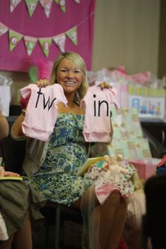 baby shower ideas for twins | It was a great time. . . just can't wait to meet the little cuties!