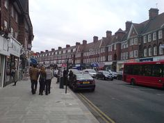 Golders Green Rd  My first London home was in Golders Green.