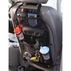 Diono Car Tidy Travel Organiser & Back Seat Protector - Kids Storage Stow n Go Car Seat Accessories, Baby Accessories, Travel Accessories, Interior Accessories, Car Trip Organization, Organizing, Backseat Car Organizer, Go Car, Kid Toy Storage