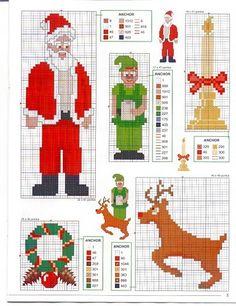 Gráficos-de-ponto-cruz-do-Papai-Noel24