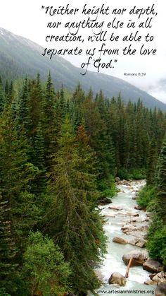 Klondike mountains, Alaska; Romans 8:39
