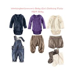 workingberlinmum: Autumn Baby Girls Fashion: My H Picks