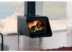 Rocal D-5 (9kW) Multi fuel stove. For the studio, but may not be available as gas version.
