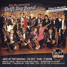 #jazz at The Nassau featuring the Delft #bigband..Listen to the #music