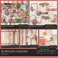 My Memories September Bundle