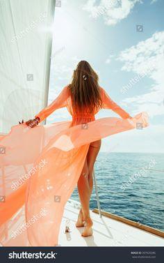 yacht luxury girl woman summer sea sun sand new sexy poose beauty holiday hostess crew guest island ocean mavi denizci sail sailing yelken party wet salty wave sealife yachtlife goodmorning Boat Girl, Yacht Week, Cruise Pictures, Beach Poses, Nautical Fashion, Cruise Vacation, Sailing, Sexy Women, Bikinis