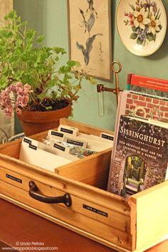 Seed storage box / organizer Romppala - Lindan pihalla: Siementen säilytyslaatikko