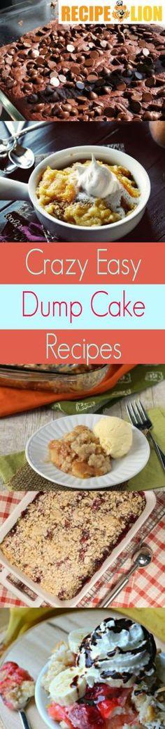 20 Crazy Easy Dump Cake Recipes