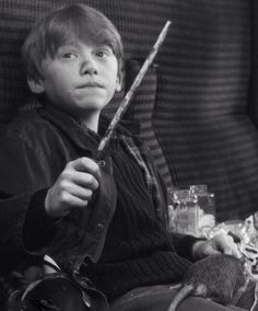 Ron Weasley- Its leviOsa, not levioSA