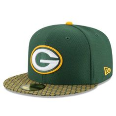 low priced 9e9ca 3b5d0 GREEN BAY PACKERS OFFICIAL SIDELINE 59FIFTY FITTED Fitted Caps, Nfl Sports, Green  Bay Packers