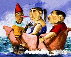 'Il racconto' by Giuseppe Antonio Procopio (aka  Pino Procopio), born In Guardavalle In 1954.