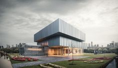 CGarchitect - Professional 3D Architectural Visualization User Community | Museum in the park