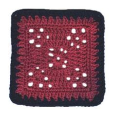 Variation of 8 Lady Square - A free Crochet pattern from jpfun.com.