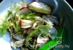 Őszi saláta csirkehússal Cabbage, Tacos, Chicken, Vegetables, Ethnic Recipes, Food, Bulgur, Veggies, Veggie Food