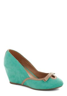 Isle Seat Wedge, #ModCloth why don't these come in my size!!!  WAH!