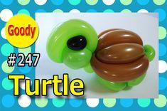 Turtle balloon カメ亀さんを作ろう! 【かねさんのバルーンアート】