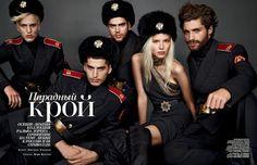 Sasha Luss Vogue Russia Nov. 2013